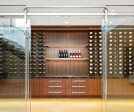 The Baldur Glass Mount System with the Wine Room