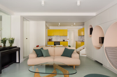 Complete transformation for a house in Paris