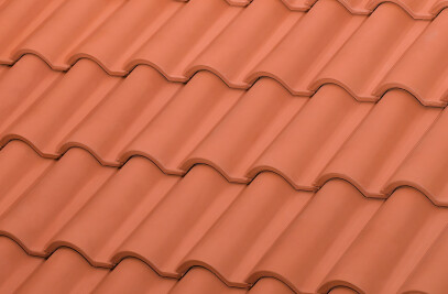 TB-12 ceramic roof tile | Red