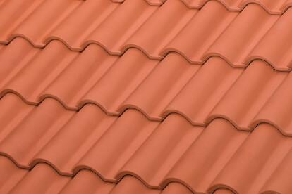 TB-12 ceramic roof tile | Red