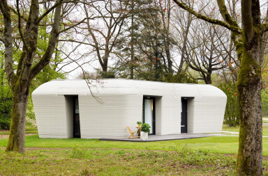 Europe's first 3D printed house completed in the Netherlands