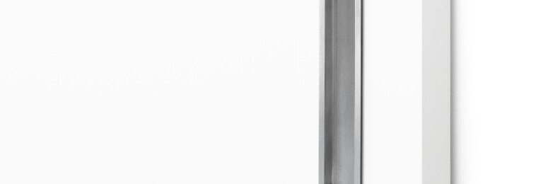 Asta Door Pull in Brushed Stainless