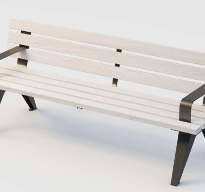 Outdoor bench Aria wood
