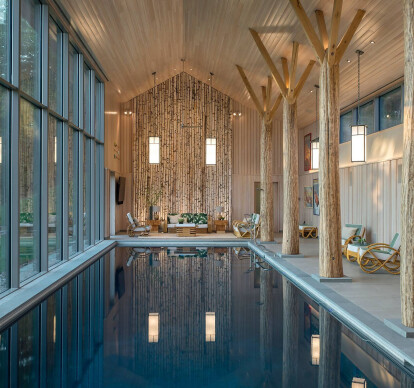 Lazy Bear Pool House