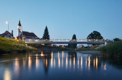 Footbridge in Příbor