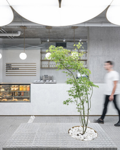 JISU Speciality Coffee Shop designed influenced by the public spaces of Buenos Aires