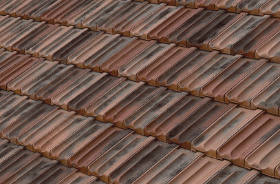 ALICANTINA-12 FLAT ROOF TILE | NATURE NORTEGNA