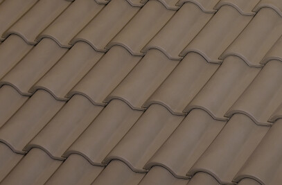 TB-12 CERAMIC ROOF TILE | NATURE BROWN