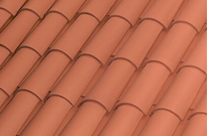 C-50.21 CELLER CURVED ROOF TILE | NATURE RED