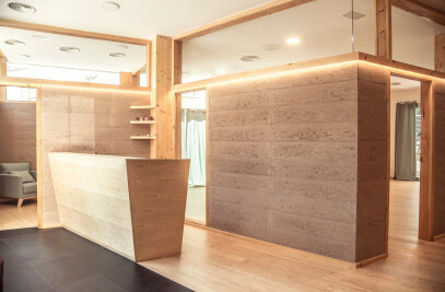 MIBI Rammed earth Yoga center