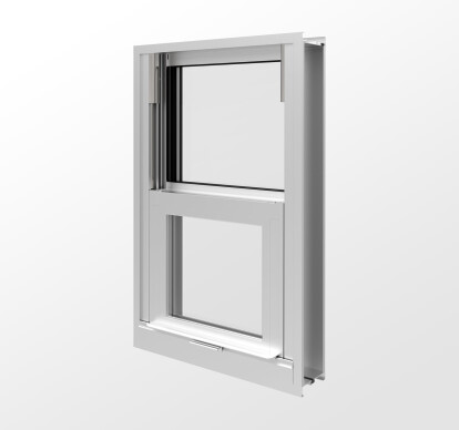 YVS 410 TUH - Thermally Broken Side Loading, Impact Resistant and Blast Mitigating Hung Window