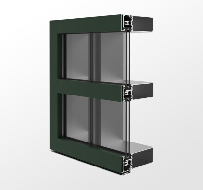 YCW 750 XT SSG - High Performance Two-Sided Structural Silicone Glazed Curtain Wall Featuring Dual Thermal Barriers