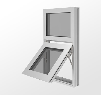 YOW 350 T Thermally Broken, Heavy-Wall Window System for Insulating Glass