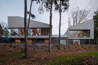 Memphremagog Lake House sources church architecture as inspiration