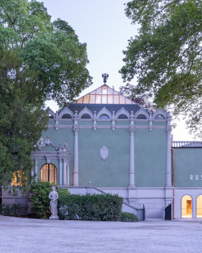 Renovation of the Russian Pavilion