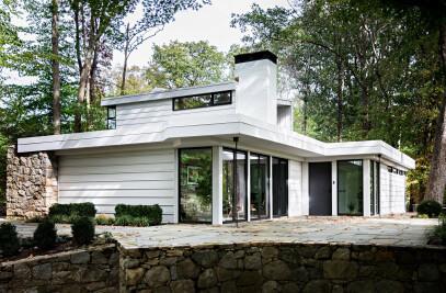 Midcentury Modern Residential Pavilion
