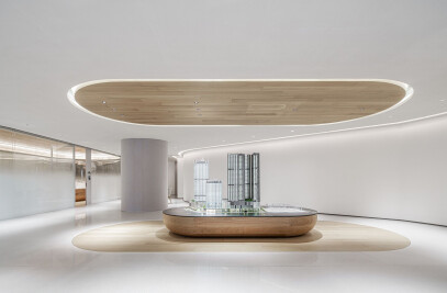 Shenzhen Sungang centre lobby and showroom