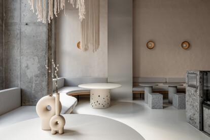 Istetyka restaurant concept combines minimalist with Ukrainian tradition