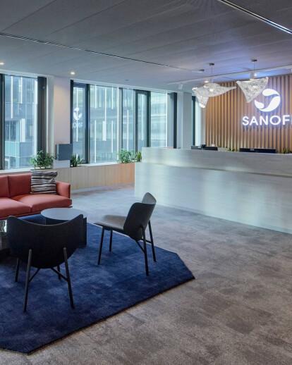 Sanofi office interior