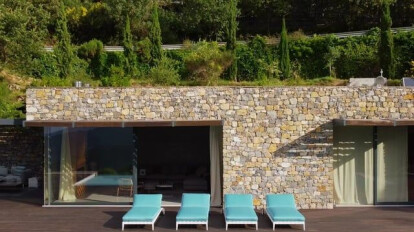 The Flexform WAY OF outdoor living   ABOVE THE SEA