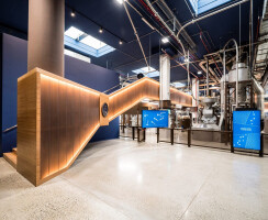 MOSO Bamboo Flooring and Solid Panel at 1895 Coffee Designers by Lavazza
