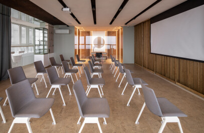 Yoga studio and lecture hall in Kyiv