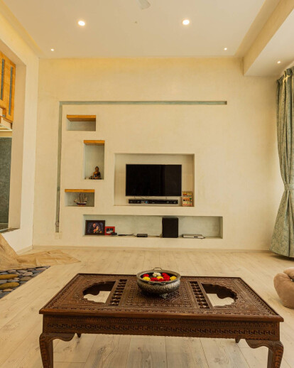 A Contemplative home