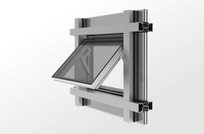 YES SSG Vent Zero Sightline Operable Vent for Storefront and Wall Systems
