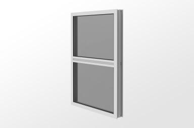 YFW 400 TU - Thermally Broken Fixed Window for Insulating Glass