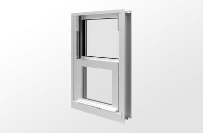 YVS 410 TU Thermally Broken Hung Window with Insulating Glass