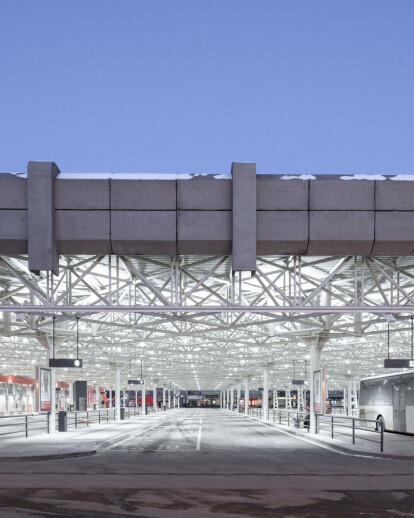 Chybik + Kristof Architects preserve Brutalist architectural heritage while advocating for positive social change through their redesign of the Zvonarka Central Bus Terminal