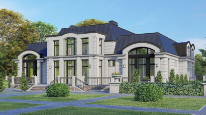 FAMILY MANOR - Combination of classic forms and modern style