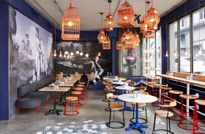 Swan Cafe interior
