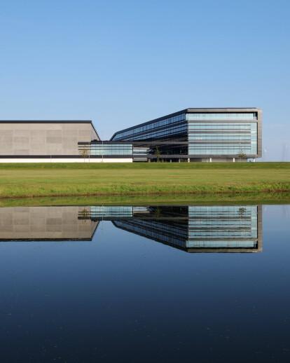 Mascot International by C.F. Møller Architects adds a distinctive new landmark to the Danish landscape