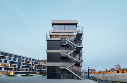 Student Dormitory And Restaurant Campus Varaždin