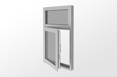 YOW 225 Operable Window with Monolithic or Insulating Glass