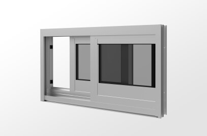 YSW 400T Thermally Broken Sliding Window with Monolithic or Insulating Glass