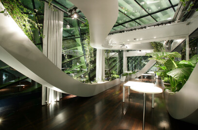 Panoramic Garden of CCIS