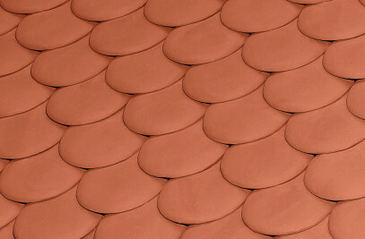 ESCAMA ROOF TILE  | NATURE RED