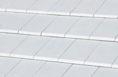FLAT-10 CERAMIC ROOF TILE | PLAIN COLOUR ÁRTICA