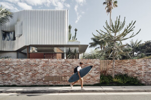 Bismarck House engages with its laneway in a challenge to conventional housing typology