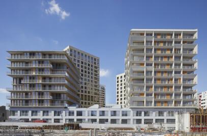 105 social housings + 18 S.O.H.O.