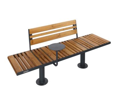 Outdoor bench Star