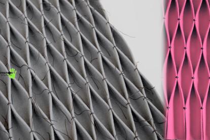 Wild Rue + Art Plissee Origami Acoustic Felt Series
