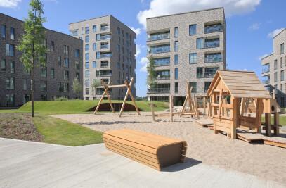 Housing on Holzhalbinsel, Rostock