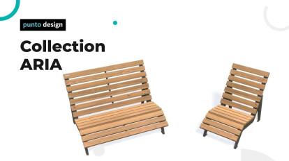 """Collection """"ARIA"""" - Punto Design"""