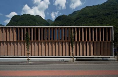 Melano administration and shopping center