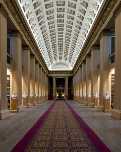 The Playfair Library at Edinburgh University