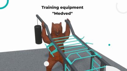 """Training equipment """"Medved"""""""