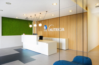 Danone/Nutricia office Space renovation in Athens
